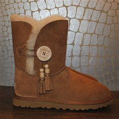 UGG Bailey Button Charms CHESTNUT £180.00