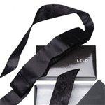 LELO Intima Black Silk Blindfold by LELO Black &amp;pound;39.99