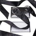 LELO Boa Pleasure Ties Black by LELO Black Silk £55.99