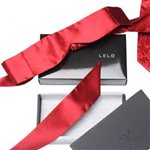 LELO Intima Red Silk Blindfold by LELO Red &amp;pound;39.99