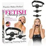 Ball Gag Training System Black £24.99