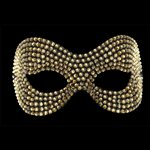 Phantom Gold Swarovski Crystal Mask Gold £119.99