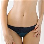 Mimi Holliday Nonnettes Classic Knicker Navy and Teal £38.99 <span class='priceNOW'>NOW £29.25</span>