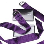 LELO Boa Pleasure Ties Purple by LELO Purple Silk £55.99