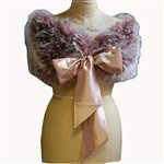 Pink Faux Fur Shrug Pink £89.99