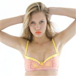 Mimi Holliday Pina Colada Super Pad-Plunge Bra Daffodil and Fuschia £54.99 <span class='priceNOW'>NOW £41.25</span>