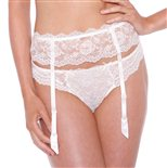 Chantelle Eternelle Suspender Belt Ivory 45.99