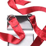 LELO Boa Pleasure Ties Red by LELO Red Silk 55.99
