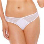 Chantelle Sublime Tanga Thong White White £29.99