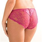 Mimi Holliday Berry Lace Classic Knicker Hot Pink Lace £39.99