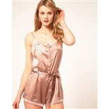 Elle Macpherson Obsidian Maria Silk Teddy Blush Pink 124.99