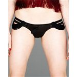 Made by Niki Strands Fringed Brief Black Chalice £90.00