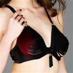 Made by Niki Strands Black Chalice Underwired Bra Black Chalice £179.00