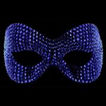 Phantom Cobalt Blue Swarovski Crystal Mask Cobalt Blue £119.99